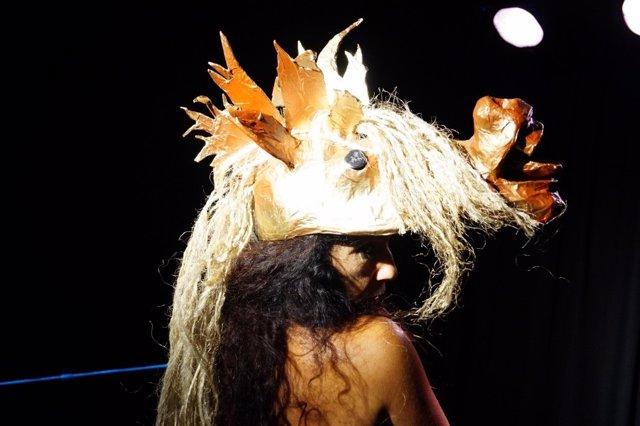Obra 'La novia del viento', de Abrego