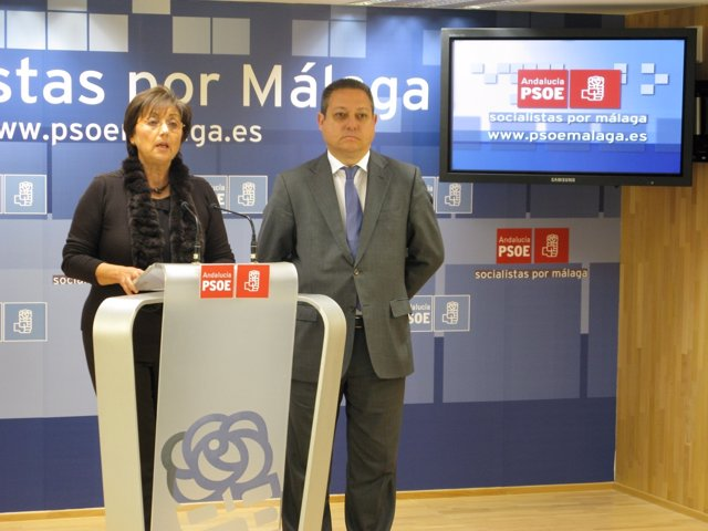 Marisa Bustinduy y Enrique Benítez