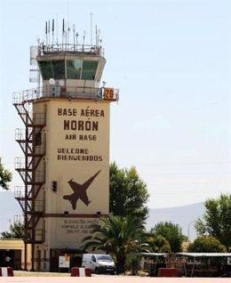 Imagen de la base áerea de Morón de la Frontera (Sevilla)