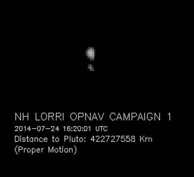 Plutón y su luna Charon