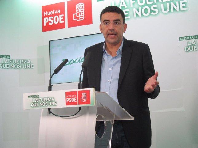 Mario Jiménez, portavoz del PSOE en el Parlamento andaluz.