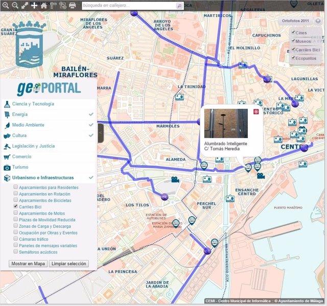 GeoPortal Ayuntamiento Málaga CEMI