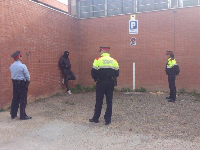 Incidentes en la Escuela de Hostelería de Girona por el 9N
