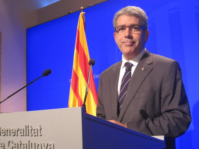 El portavoz de la Generalitat, Francesc Homs, en una foto de archivo.