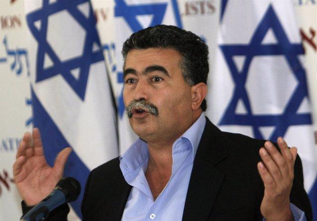 El exministro de Protección del Medio Ambiente, Amir Peretz