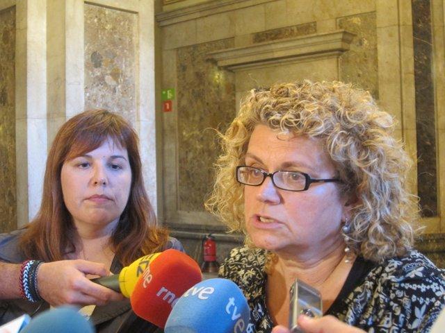 Marina Geli y Núria Ventura, en una foto de archivo.