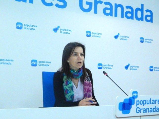 La vicesecretaria de Política Social e Igualdad del PP-A, Ana Vanesa García
