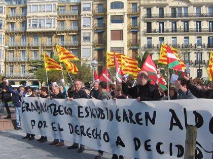 """EH Bildu dice que """"lo que hoy es posible en Cataluña, tiene que ser posible mañana en Euskal Herria"""""""
