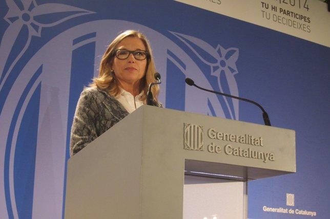 La vicepresidenta del Govern, Joana Ortega
