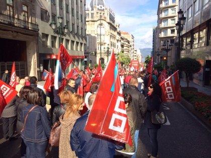 """Centenares de personas piden en Vigo un sector industrial """"con empleo y derechos"""""""