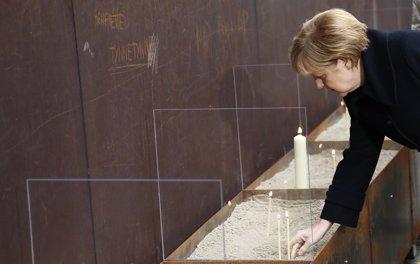 """Merkel destaca que """"la caída del Muro de Berlín demuestra que los sueños pueden hacerse realidad"""""""