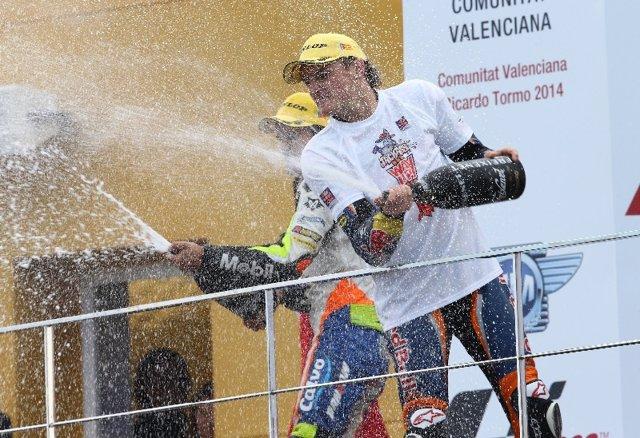 Jack Miller Moto3 Valencia MotoGP 2014