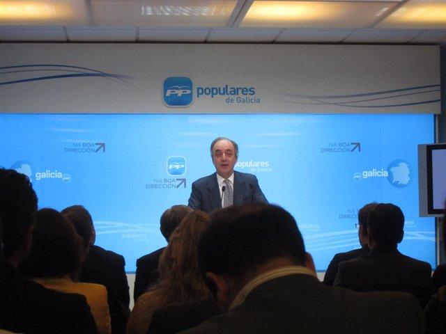 Millán Mon interviene ante el Comité Ejecutivo del PPdeG