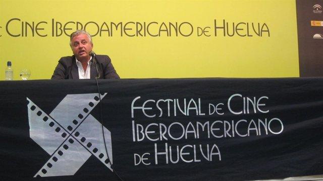 El director del Festival de Cine Iberoamericano de Huelva, Pedro Castillo.