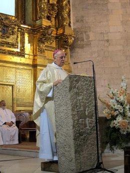 Blázquez durante la apertura en Valladolid del Año Jubilar Teresiano