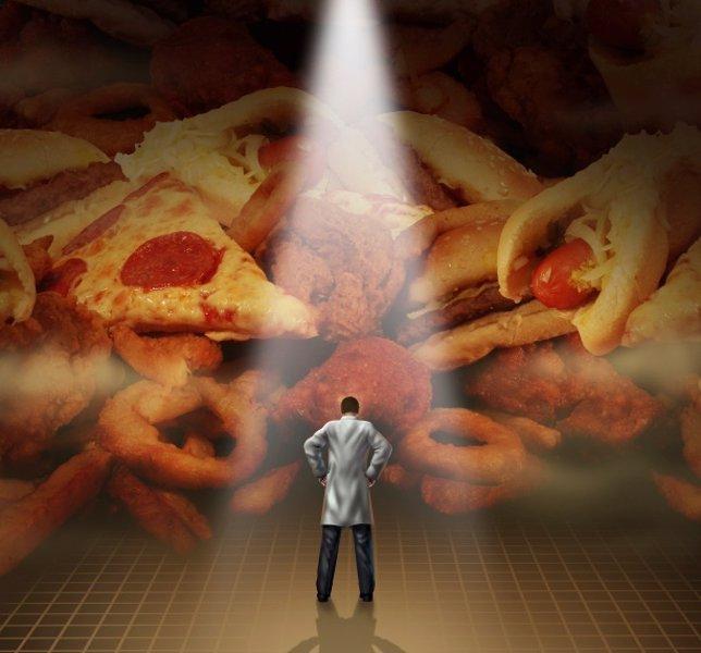 Luchar contra el colesterol y evitar comida basura