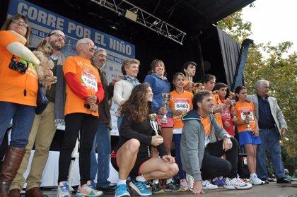 La cuarta carrera 'Corre por el niño' congrega a 7.000 personas para recaudar fondos para investigación