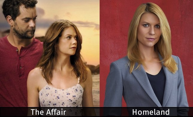 Homeland y The Affair, renovadas