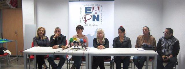 Rueda de prensa de EAPN-RM