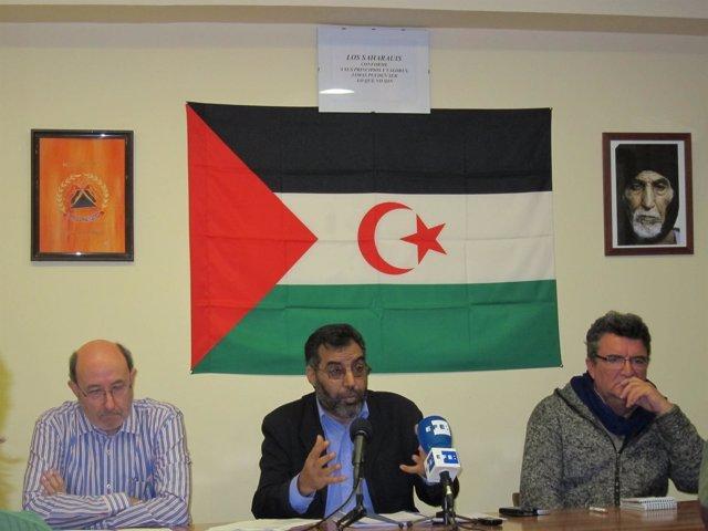 El delegado saharaui en España, Bucharaya Beyun