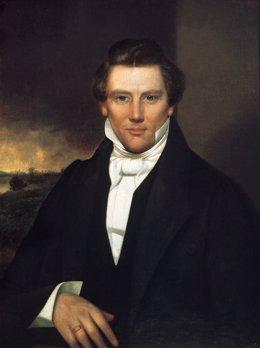 El fundador de la iglesia de los mormones, Joseph Smith