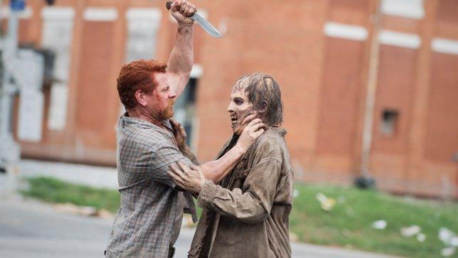 Michael Cudlitz como Abraham - The Walking Dead (quinta temporada)
