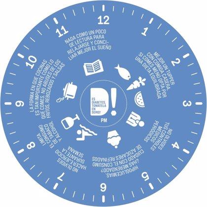 SED, redGDPS, SEMI y FEDE crean el 'Reloj de la Diabetes' para ayudar a los pacientes a gestionar su enfermedad