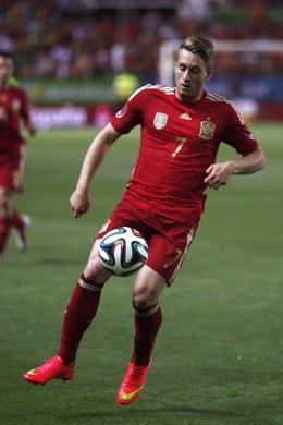 Gerard Deulofeu con la selección española