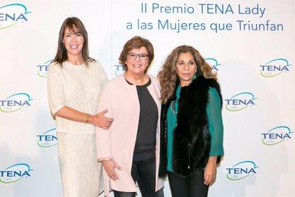 La periodista María Escario, ganadora del 'II Premio TENA Lady a las Mujeres que Triunfan'