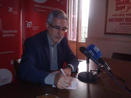 Llamazares dice que será IU de Madrid quien delimite quién debe dimitir por las tarjetas b de Caja Madrid