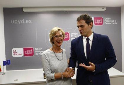 """UPyD debate mañana su estrategia electoral con C's, aunque no ve """"serio"""" que pida un pacto a través de los medios"""
