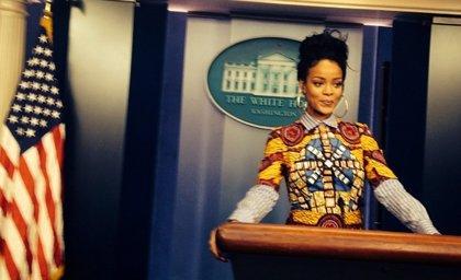 Rihanna se cuela en la Casa Blanca para emular Scandal