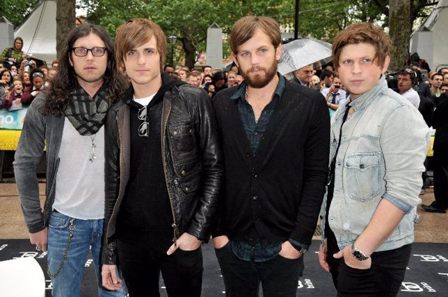 El grupo de rock sureño Kings of Leon