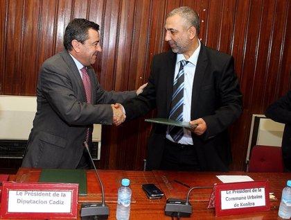 Diputación firma un acuerdo con Kenitra para cooperación logística, cultura, económica o medioambiental
