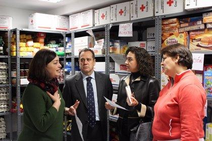 Cruz Roja ha atendido a 55.000 personas en Valladolid en los diez primeros meses de este año