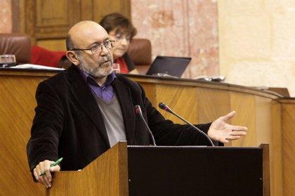 """IULV-CA no está """"ni mucho menos satisfecha"""" con el Presupuesto y ve """"una carta a los reyes magos"""" la enmienda del PP-A"""