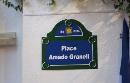 Valencia homenajea con una plaza a Amado Granell, combatiente español que liberó París del fascismo