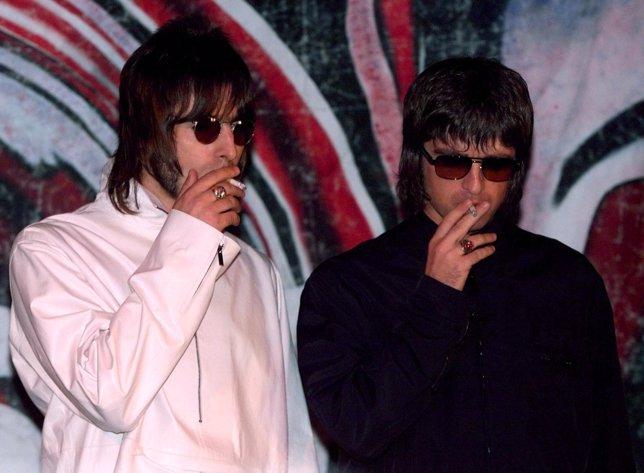 Liam y Noel Gallagher de Oasis