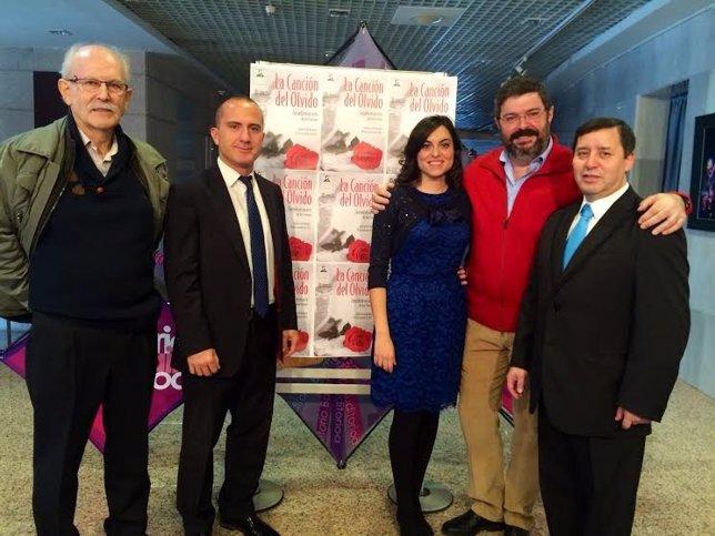 Presentación de la zarzuela 'La Canción del Olvido'.