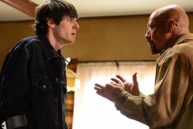 Los actores de Breaking Bad, Bryan Cranston y RJ Mitte