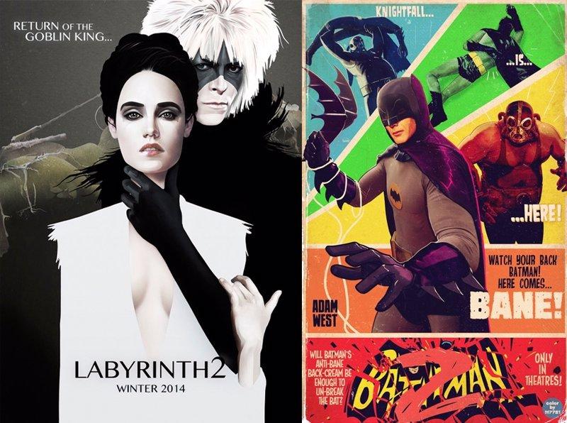 Los carteles de las secuelas que nunca existieron