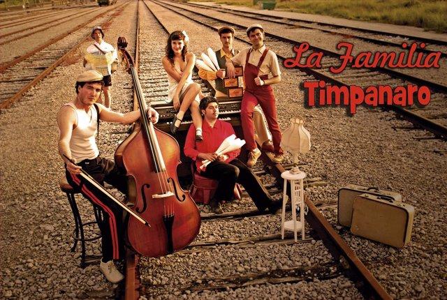 Cartel de 'La Familia Timpanaro', de Malabaracirco