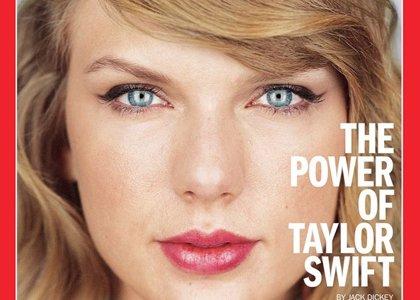 Taylor Swift al natural, se convierte en la portada de la revista Time