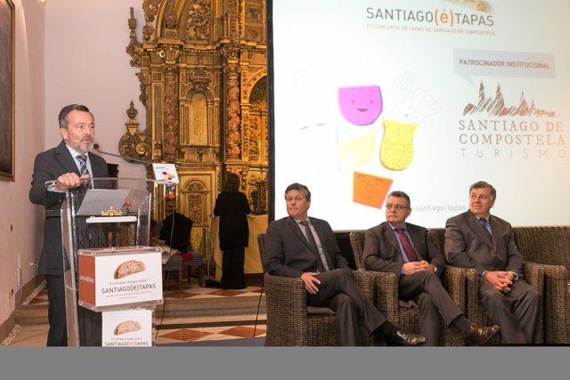 Presentación de la séptima edición del 'Santiago (é)Tapas'