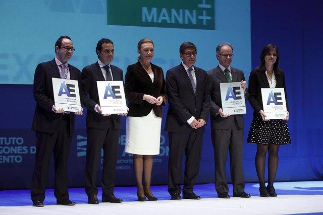 Rudi entrega los premios Aragón Empresa