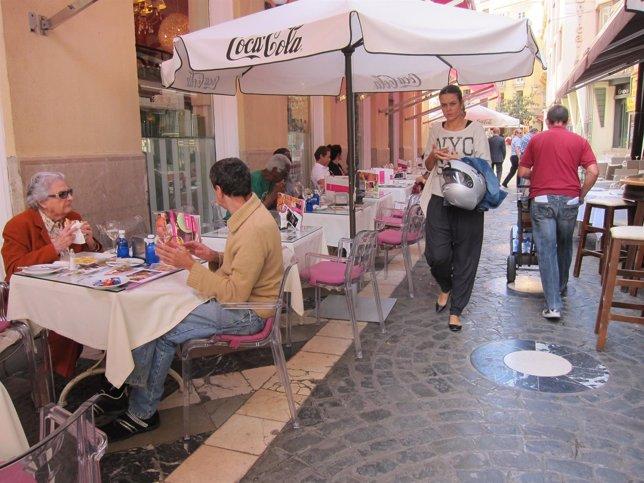 Terraza, bar, turismo, turista, comer, cafetería, hostelería, restaurante,