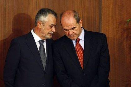 El PSOE: Chaves y Griñán deberán dejar sus escaños si les imputan un delito