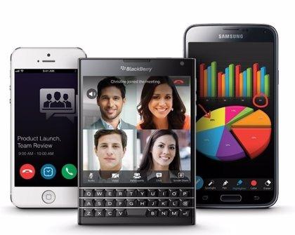 BlackBerry lanza BBM Meetings para competir con Skype