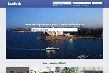 Facebook lanza su buscador de lugares
