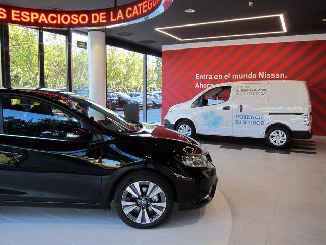 Concesionario de Nissan en su nueva sede en L'Hospitalet